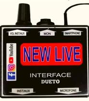Interface de Áudio Profissional Dueto New Live -