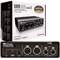 Interface de Áudio Steinberg UR22 MKII USB 2.0 192KHz -