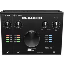 Interface de Áudio USB M-Audio 2 Canais com MIDI IN/OUT -