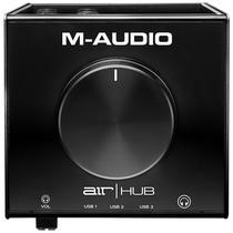 Interface M-Audio Monitoramento de áudio AIR HUB 3 Portas USB -