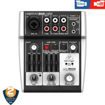 Interface Mesa Behringer Xenyx 302 Usb  Live Face Youtube -