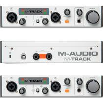 Interface Usb de Áudio M-Audio MtrackII -