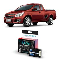 Interface Volante Chevrolet Montana 2014 a 2019 Faaftech FT-WI Desbloqueio Comandos Originais -