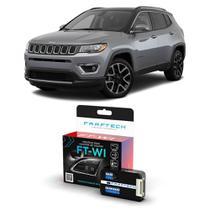 Interface Volante Jeep Compass 2012 a 2019 Faaftech FT-WI Desbloqueio Comandos Originais -