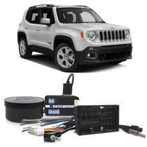 Interface Volante Jeep Renegade 2015 a 2019 Faaftech FT-SW-FCA Desbloqueio Comandos Originais -