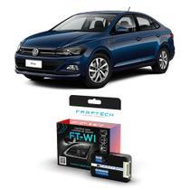 Interface Volante Volkswagen Virtus 2018 a 2020 Faaftech FT-WI Desbloqueio Comandos Originais -