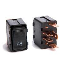 Interruptor Vidro Eletrico Ford Escort Ano 97 Em Diante - Simples - Kostal