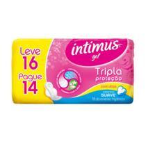 Intimus Absorventes Íntimos Gel Suave C/A C/16 -