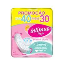 Intimus Days Absorvente Diário S/ Perfume S/ Abas C/40 -