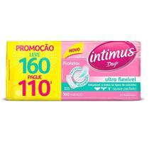 Intimus Days Absorvente Diário Ultra Flexível C/160 -