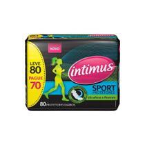 Intimus Gel Sport Absorvente Diário Ultrafino C/80 -