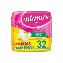 Intimus Gel Tripla ProteÇÃO Seca C/Abas C/32 Absorvente -
