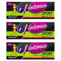 Intimus Sport Absorvente Interno Super + Aplicador C/8 (Kit C/03) -