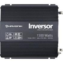 Inversor e Conversor de Tensão Onda Modificada Hayonik 12V para 127V 1500W Com Saída USB 67211 -