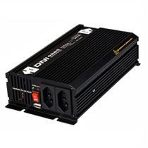 Inversor  Entrada 24V Saída 110V - 1000W - Uso Geral - DNI 0885 -