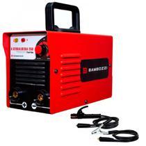 Inversora de solda 110A para eletrodo revestido - A Serralheira 250 - Bambozzi -