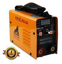 Inversora de Solda 190A 220V USK + Máscara Automática Kab Solar - Arcsoldas