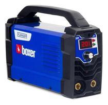 Inversora de solda 200 amperes para eletrodo revestido e tig DC - FLAMA 201 BV - Boxer Bivolt -