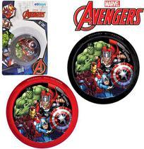 Ioiô Avengers Com Luz a Bateria Os Vingadores 5,5cm - 133749 - Etilux