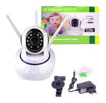 ip camera babá eletrica wifi visao noturna microfone - Onvif
