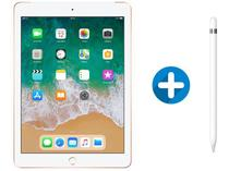 "iPad 6 Apple 4G 32GB Dourado Tela 9,7"" - Retina Proc. Chip A10 Câm. 8MP + Apple Pencil"