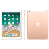"iPad 6 Apple, Tela Retina 9.7"", 128GB, Dourado, Wi-Fi + Cellular - MRM22BZ/A"