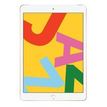 "iPad 7 Apple, Tela Retina 10.2"", 32GB, Dourado, Wi-Fi + Cellular- PN009BZ/A -"