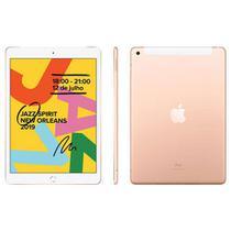"""iPad 7ª Geração Dourado com Tela de 10,2"""", 4G, 128 GB e Processador A10 - MW6G2BZ/A - Apple"""