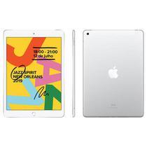 """iPad 7ª Geração Prata com 10,2"""", 4G, iPadOS, Processador A10 Fusion e 32GB - MW6C2BZ/A - Apple"""