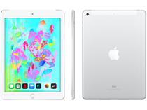 "iPad 9,7"" 6ª Geração Apple Wi-Fi + Cellular 32GB - Prateado"