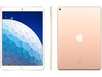 """iPad Air 10,5"""" 3ª Geração Apple Wi-Fi 64GB - Dourado"""
