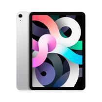 """iPad Air 10,9"""" 4ª geração Apple Wi-Fi + Cellular 64GB Prateado -"""