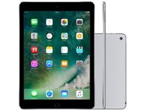 "iPad Air 2 Apple 128GB Cinza Espacial Tela 9,7"" - Retina Proc. Chip A8X Câm. 8MP + Frontal iOS 10"