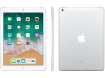"iPad Apple 4G 128GB Prata Tela 9,7"" Retina - Proc. Chip A9 Câm. 8MP + Frontal iOS 11 Touch ID"