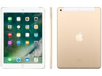 "iPad Apple 4G 32GB Dourado Tela 9,7"" Retina Proc. - Chip A9 Câm. 8MP + Frontal iOS 10 Touch ID 4G"