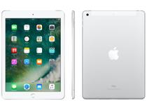 "iPad Apple 4G 32GB Prata Tela 9,7"" Retina - Proc. Chip A9 Câm. 8MP + Frontal iOS 10 Touch ID"