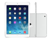 "iPad Mini 2 Apple 32GB Prata Tela 7,9"" Retina - Proc. M7 Câm. 5MP + Frontal iOS 7"