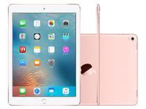 iPad Pro Apple 128GB Ouro Rosê Tela 9,7  - Retina Wi-Fi Processador M9 Câmera 12MP
