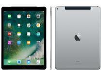 "iPad Pro Apple 4G 128GB Cinza Espacial Tela 12,9"" - Retina Proc. Chip A9X Câm. 8MP + Frontal iOS 10"