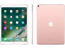 """iPad Pro Apple 4G 64GB Rosa - Tela 10,5"""" Proc. Chip A10X Câm. 12MP + Frontal 7MP"""