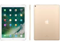 "iPad Pro Apple 64GB Dourado - Tela 12,9"" Proc. Chip A10X Câm. 12MP + Frontal 7MP"