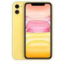 """iPhone 11 Amarelo, com Tela de 6,1"""", 4G, 64 GB e Câmera de 12 MP - MWLW2BZ/A - Apple"""