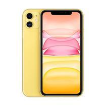 "iPhone 11 Apple Amarelo 64GB Tela Liquid Retina HD 6.1"" Câmera Dupla 12MP -"