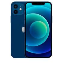 """iPhone 12 Azul, com Tela de 6,1"""", 5G, 256 GB e Câmera Dupla de 12MP Ultra-angular + 12MP Grande-angular - MGJK3BZ/A - Apple"""