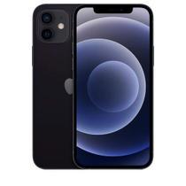 """iPhone 12 Mini Preto, Tela de 5,4"""", 5G, 256 GB e Câmera Dupla de 12MP Ultra-angular + 12MP Grande-angular - MGE93BZ/A - Apple"""