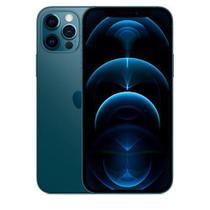 """iPhone 12 Pro Azul-Pacífico, com Tela de 6,1"""", 5G, 256 GB e Câmera Tripla de 12MP - MGMT3BZ/A - Apple"""