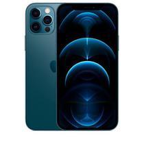 """iPhone 12 Pro Max Azul Pacífico, com Tela de 6,7"""", 5G, 256 GB e Câmera Tripla de 12MP - MGDF3BZ/A - Apple"""