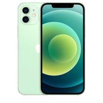 """iPhone 12 Verde, com Tela de 6,1"""", 5G, 256 GB e Câmera Dupla de 12MP Ultra-angular + 12MP Grande-angular - MGJL3BZ/A - Apple"""