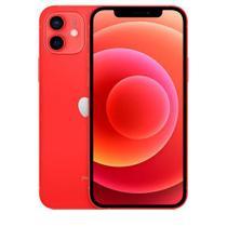 """iPhone 12 Vermelho, com Tela de 6,1"""", 5G, 64 GB e Câmera Dupla de 12MP Ultra-angular + 12MP Grande-angular - MGJ73BZ/A - Apple"""
