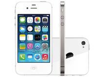 "iPhone 4s Apple 8GB 3G iOS 7 Tela 3.5"" Wi-Fi - Câmera 8MP Grava em HD + Frontal GPS - Branco"